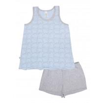 Пижама для девочки, арт. 104626, возраст от 7 до 10 лет