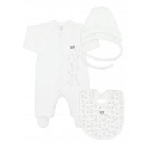 Комплект для новорожденного из 3-х предметов, арт.109972, возраст от 0 до 3 месяцев