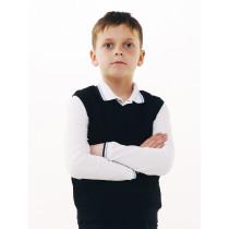 Жилет для мальчика, арт. 116421, возраст от 11 до 14 лет