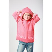 Кофта для девочки, арт. 16021001, возраст от 2 до 7 лет