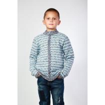 Джемпер для мальчика, арт. 17010022, возраст от 4 до 9 лет