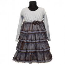 Платье нарядное для девочки, арт.5764 возраст от 2 до 6 лет