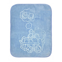 Одеяло детское велюр, арт.7109 размер 100*100