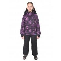 фиолетовый-черный