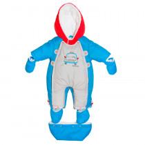 Комбинезон трансформер для мальчика, арт.R224-12 возраст от 3 до 6 месяцев
