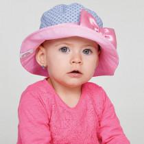 Шляпка для девочки, арт. Адриана, возраст от 9 до 18 месяцев