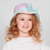 Шляпка для девочки, арт. Сеж, возраст от 1 до 3 лет