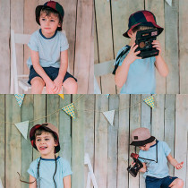 Панамка двусторонняя для мальчика, арт. Логан возраст от 5 до 13 лет