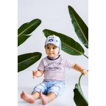 Кепка для мальчика, арт. Ван, возраст от 6 до 12 месяцев