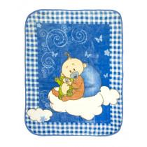 Одеяло детское велюр, арт.малыш размер 100*100