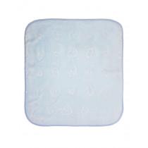 Одеяло детское велюр, арт.однотонное размер 100*100