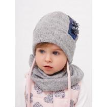 Набор для девочки (шапка+снуд), арт. Кристен, возраст от 9 до 18 месяцев