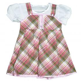 Сарафан с сорочкой для девочки, арт. 00440015, возраст от 1 до 6 лет