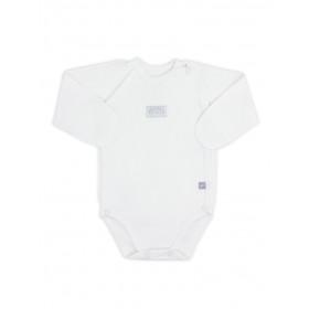 Боди-распашонка с длинным рукавом для новорожденного, арт. 102440, возраст от 0 до 3 месяцев