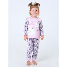 Пижама для девочки, арт. 104201, возраст от 1 до 1,5 лет