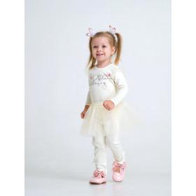 Комплект (боди и юбка) для девочки, арт.109980, возраст от 6 до 18 месяцев