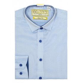 Рубашка для мальчика, арт. Corse 22 slim, возраст от 6 до 15 лет
