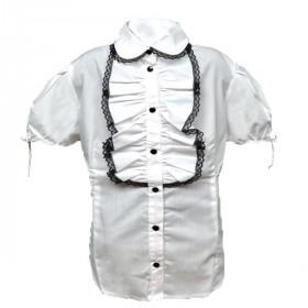 Блуза для девочки с коротким рукавом, арт.Злата, возраст от 11 до 14 лет