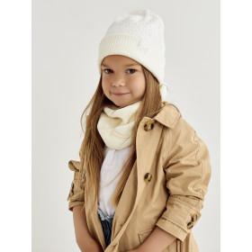 Набір для дівчинки (шапка+снуд), арт.Сіенна, від 1 до 3 років