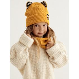 Набір для дівчинки (шапка+снуд), арт.Ева, від 1 до 3 років