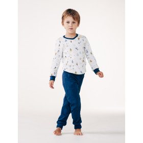 Пижама для мальчика, арт.104246-1, возраст от 12 до 18 месяцев