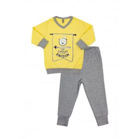 Пижама для мальчика, арт.104246, возраст от 12 до 18 месяцев