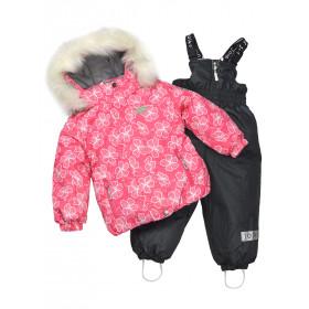 Термокомплект для девочки, арт. KG81, возраст от 9 месяцев до 3 лет